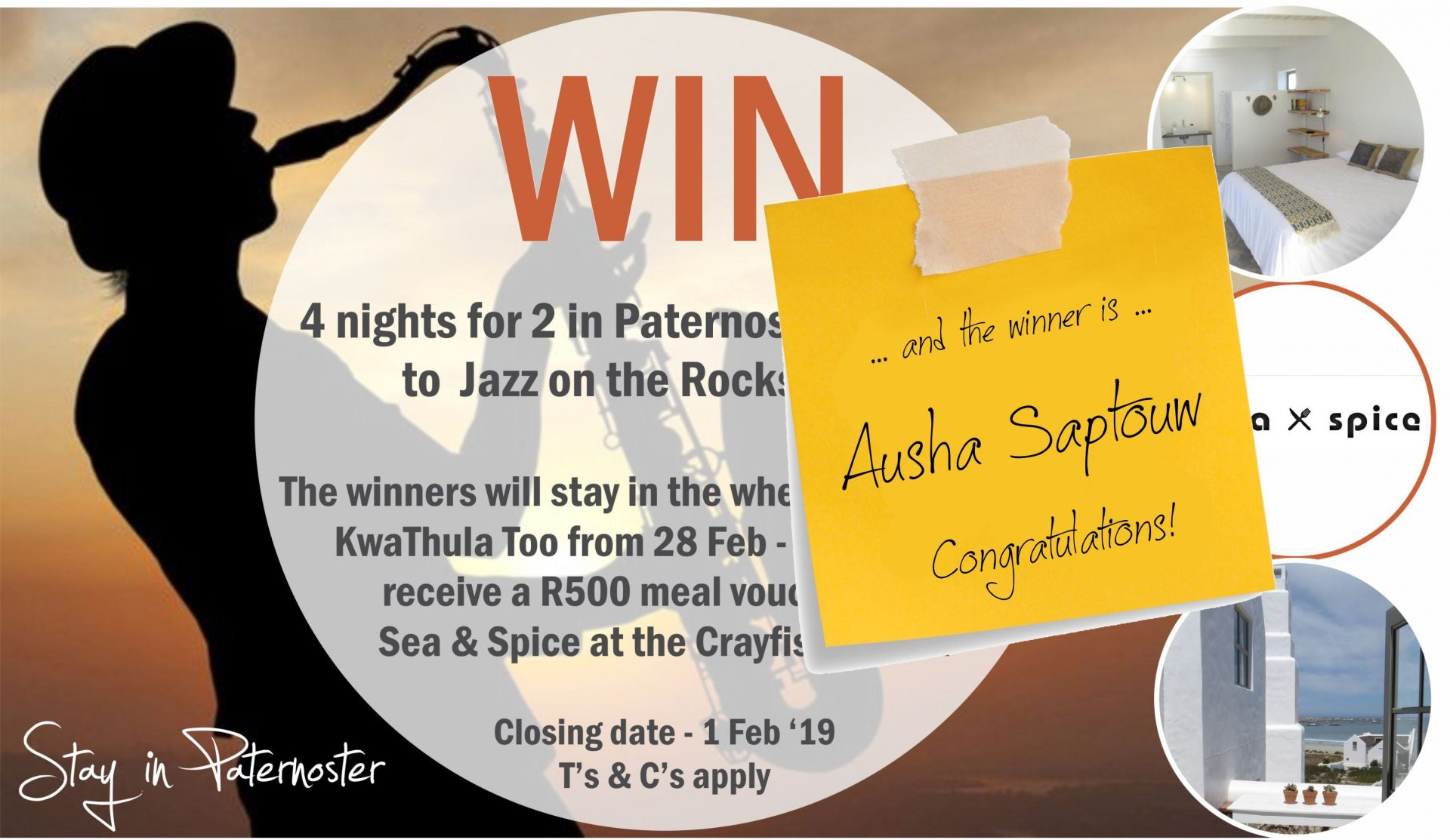 Jazz on the Rocks Competition 2019