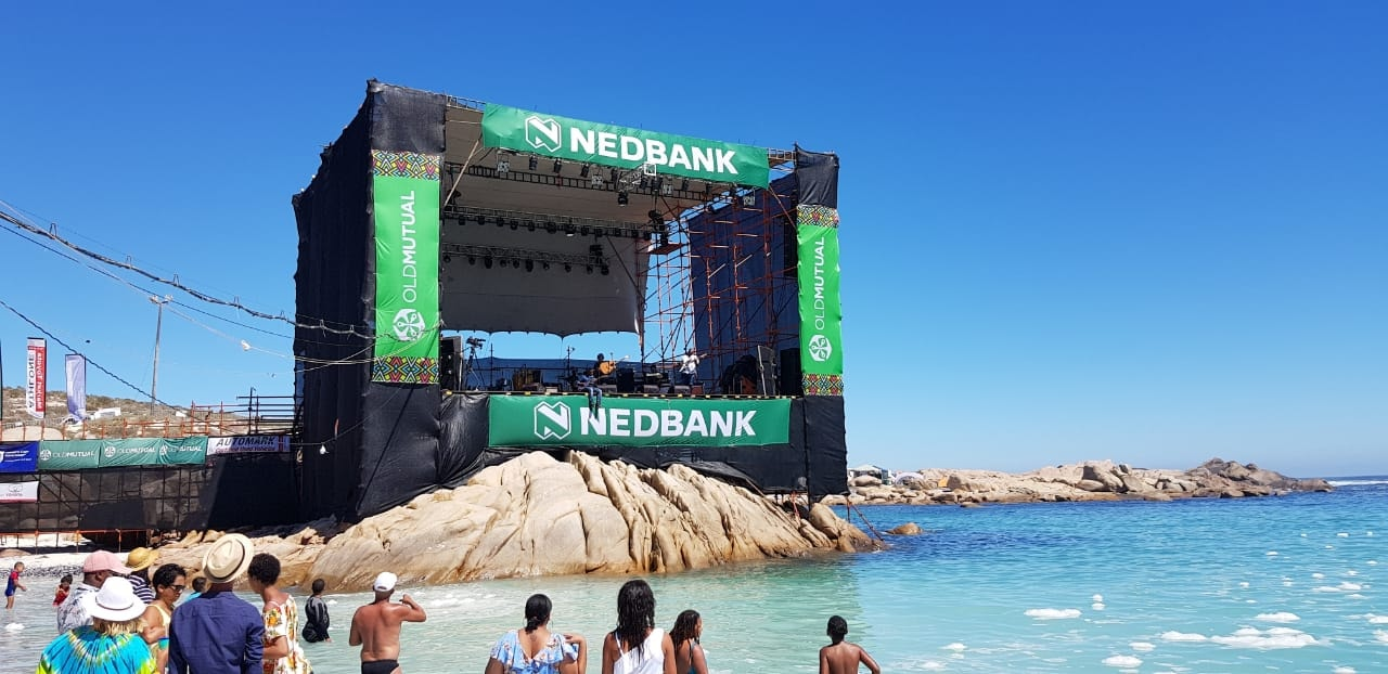 Jazz on the Rocks Festival in Tietiesbaai