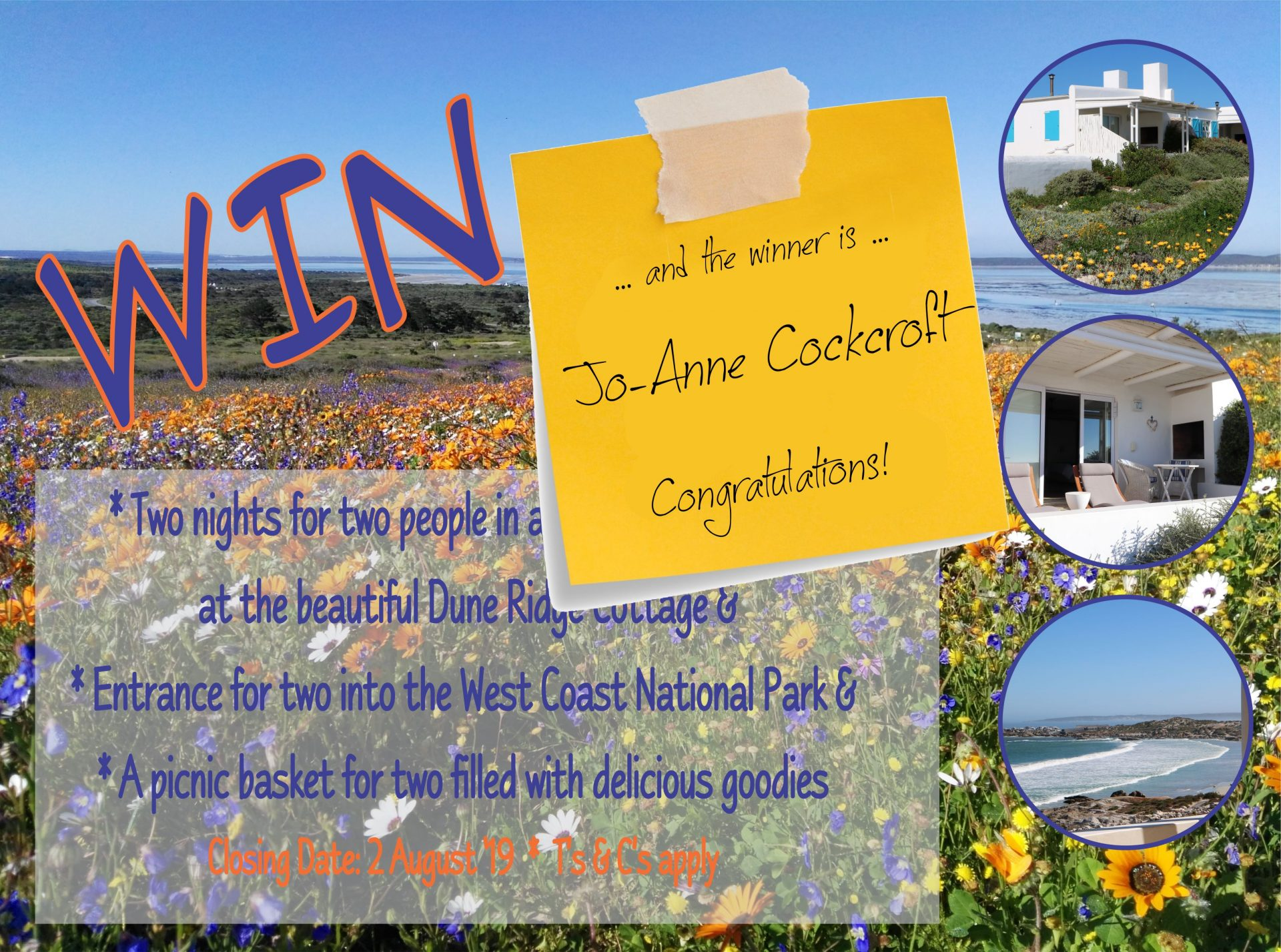 Competition Winner!