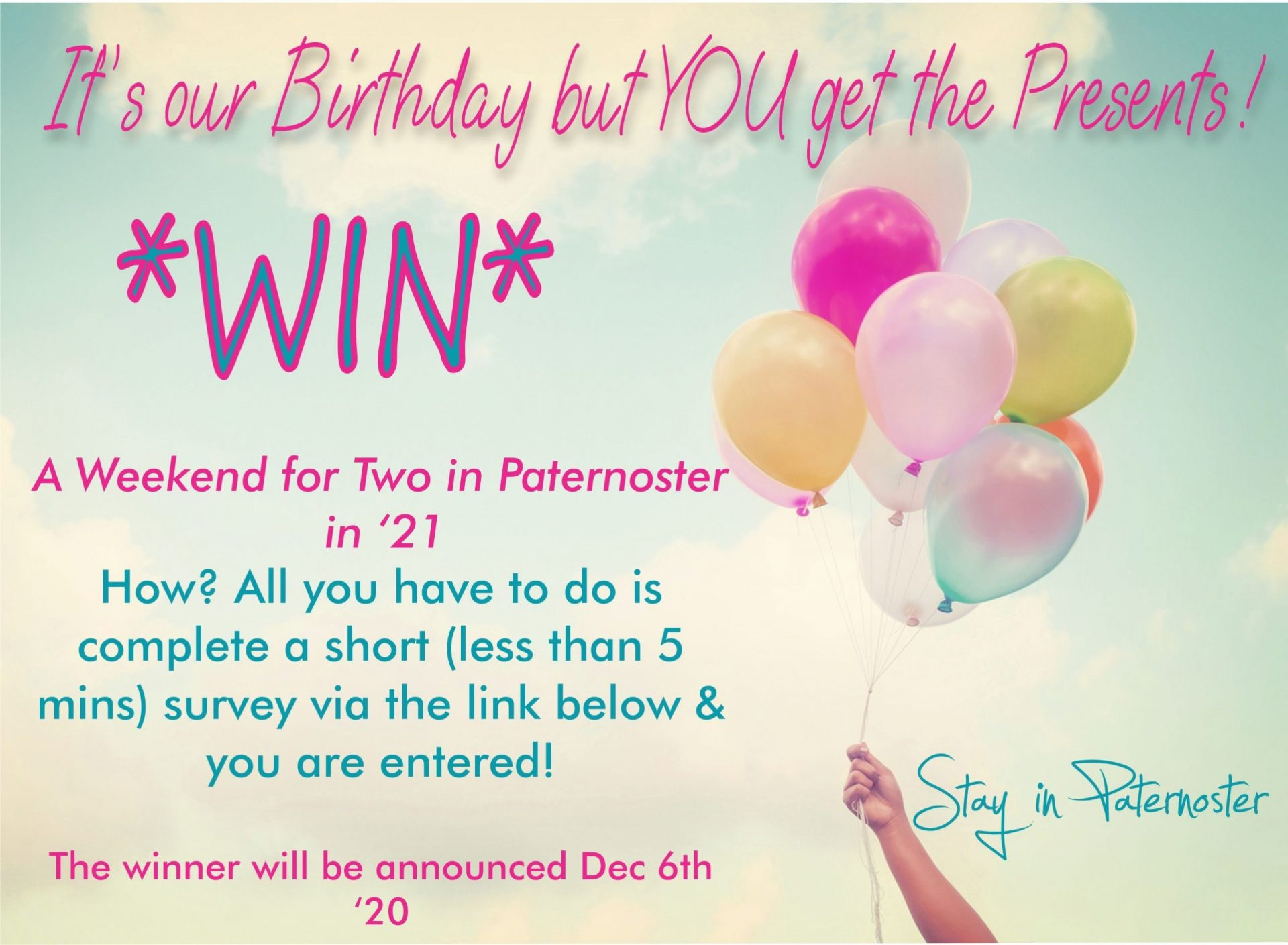 Friends of Paternoster Survey Comp